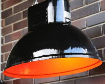 Industrial light from 1970s' - 6 colours Metal Light - Industrial lamp - Fixture - Chandeliers - bar light - brewery light - loft light