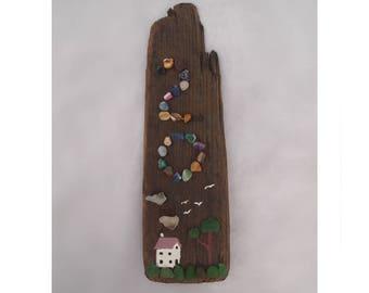 Driftwood custom house number
