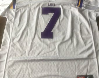Patrick Peterson LSU Louisiana State Tigers Extra Large mens new jersey