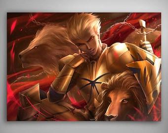 Fate/stay night - Archer: Gilgamesh // Art Print // Illustration