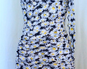 Diane Von furstenberg Floral Mini Dress