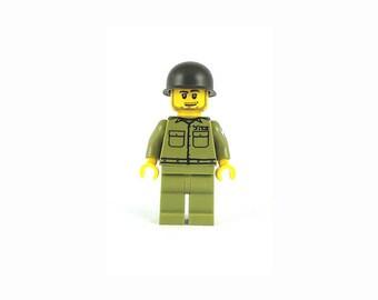 "Male IDF Mini-Figure ""David"" - Israeli Defense Force - Jewish Custom Lego® Set from JBrick"