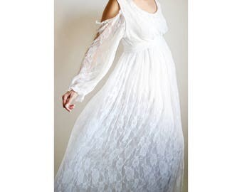 lily gown white lace maternity gown cold shoulder dress white maternity dress