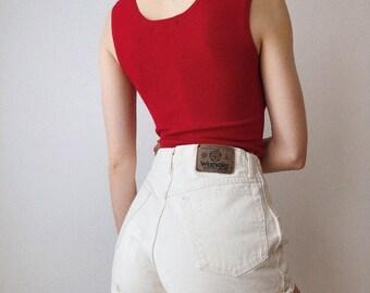 White Wrangler Shorts