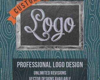 Custom Logo, Custom Logo Design, Made to Order