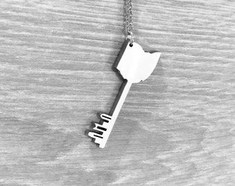 RainingKeys Capitol Line Skyline Skeleton Key