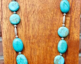 Multi origin Turquoise Necklace
