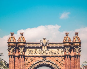 Arc de Triomf - Barcelona Photography - Barcelona - Architecture - Fine Art Photography - Travel - Title: Arc de Triomf