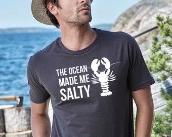 Summer tshirts summer shirts funny shirts beach shirt funny shirt lobster shirts lobster shirt funny ocean shirt funny shirts for him funny