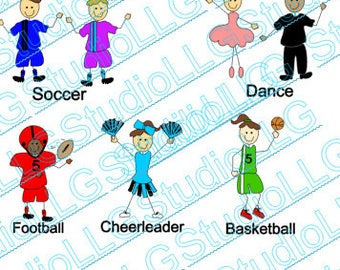 Personalized aluminum Ornaments, Sports & Hobby Ornament, Holiday Ornament , Birthday Tag.