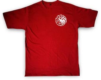 House Targaryen Shirt, Targaryen Shirt, Khaleesi Shirt ,Mother of Dragons Shirt, Tumblr, Fashion, Women