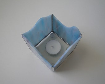 Stained glass, Candle holder, Candle shelter