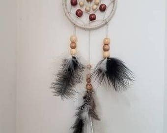 Small Neutral Colored Dreamcatcher