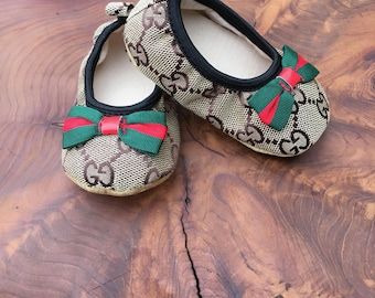 Infant Gucci Inspired Booties