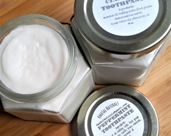 All Natural Remineralizing Toothpaste 4 oz.