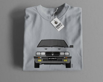 T-shirt Maserati Biturbo S | Gent, Lady and Kids | all the sizes | worldwide shipments | Car Auto Voiture