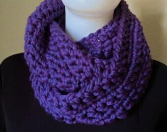 Scarf / Crochet / Infinity Scarf / Winter Scarf / Circle Scarf / Chunky Scarf / Women Scarf / Large Scarf / Wool Scarf / Gift
