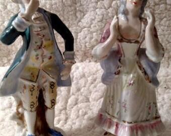 Vintage Victorian Figurines