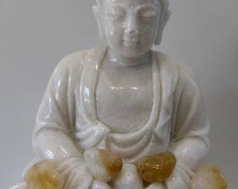 Citrine 17gr stone healing, reiki, sacred stone chakra or third chakra, meditation stone stone