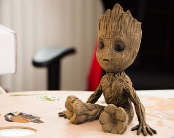 Baby Groot from 3D printer - guardians of the Galaxy 2