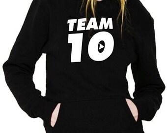 Team 10 Woman Hoodie