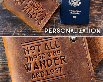 50% OFF SALE Passport Cover Leather Passport Cover Travel Wallets - Leather Gift - Leather Travel Passport Case and Cover