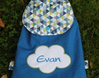 bag has child's personalized Sweatshirt cloud