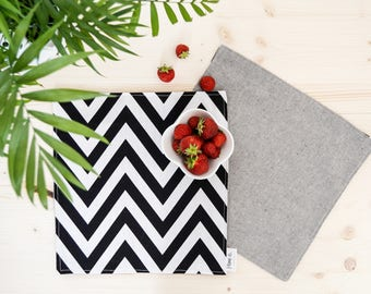Two-Sided Cotton Placemats