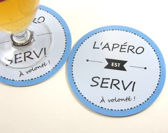Drink coaster is served at coaster will round coaster humor funny alcohol gift