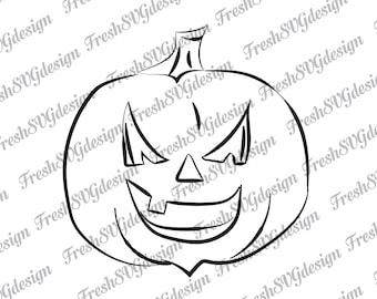 Halloween Pumpkin Svg, Pumpkin Faces Svg, Pumpkin Svg, Halloween Svg, Pumpkin Faces Clipart, Pumpkin Silhouette, Cricut, svg, dxf, eps, png