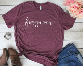 Forgiven T-Shirt   Forgiven Tee   Forgiven Boutique Shirt   Boutique Tee