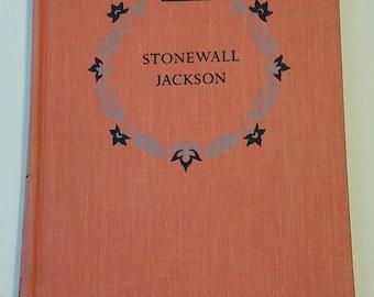 Landmark Book Series #86 - Stonewall Jackson by Jonathan Daniels