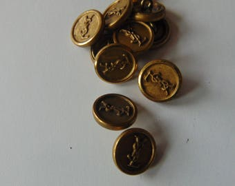 Yves Saint Laurent button