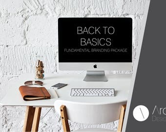 BACK TO BASICS - Branding Package - Fundamental Branding Package