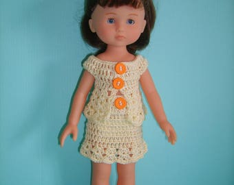 Skirt and top doll 33cm