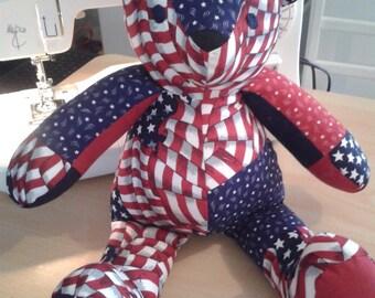 Plush; Fabrics American style bear