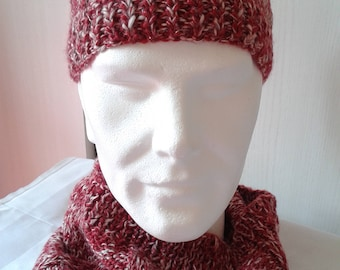 Hat and Snood for men