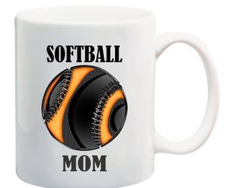Softball is life icon softball coffee mug,I love softball coffee mug, softball dad coffee mug, softball mom coffee mug, softball mug