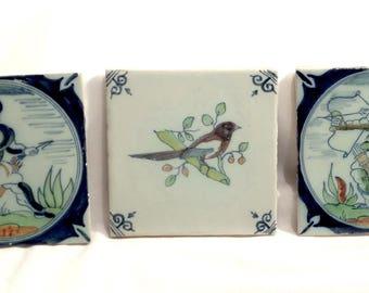 3 Provençal Tiles