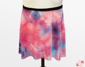 Aurora - Ballet Wrap Skirt - Ballet Skirt - Dance Skirt - Unicorn Ballet Skirt - Flourish Dancewear