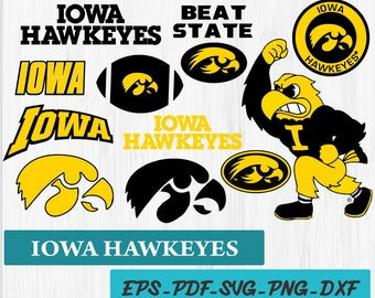 INSTANT DOWNLOAD_Iowa Hawkeyes svg, Iowa clipart, Hawkeyes clipart, Iowa svg, digital download – Decor Cut Print Mug Shirt Decal