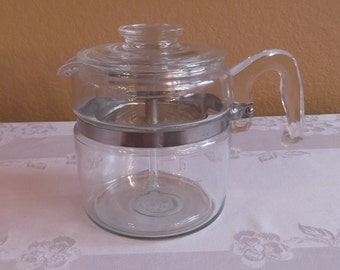 Pyrex Flameware 6 Cup Percolator