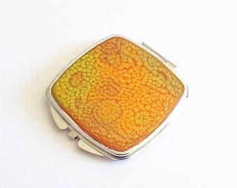purse mirror, double sided