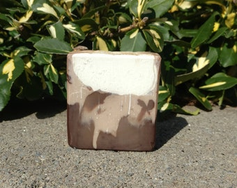 French Vanilla Buttercream Shea Butter Soap | Hand Crafted with Coconut and Avocado Oil
