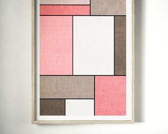 De Stijl Print, Geometry Print, De Stijl Poster, Wall Art, Modern Art, Abstract Art, Composition, Modern Art Poster, Geometry Art, Style