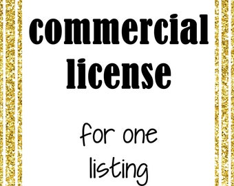 Commercial License for one listing