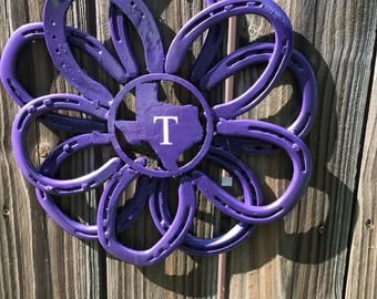 Purple Texas Wreath