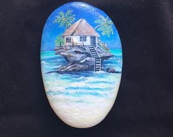 Beach House in Caribbean