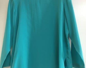 Vintage 80's silk blouse