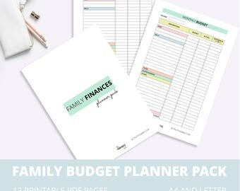 Multiplication Facts Worksheets 0-12 Pdf Budget Worksheet  Etsy Adding Exponents Worksheet with Direct And Inverse Proportion Worksheet Word Family Budget Printable Pack Budget Planner Family Finance Planner  Monthly Family Budget Worksheet Mitosis Worksheets For Middle School Pdf